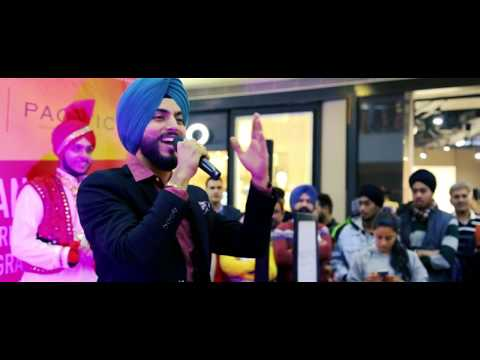Lohri Celebration feat. Prabh Saini at Pacific Mall, Tagore Garden