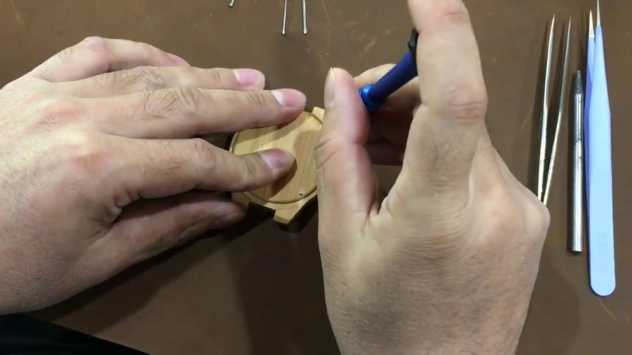 DIY BOBO BIRD Wooden Watch Assembly - YouTube