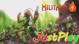 Первый взгляд: MilitAnt - Великая война насекомых!  [На русском языке]