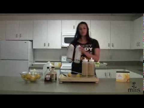 How to prepare fresh lemon mixture