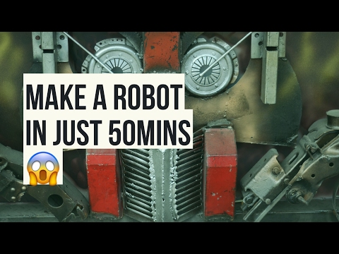 learn robot programming in 50 Mins ! : Robotics Lectures