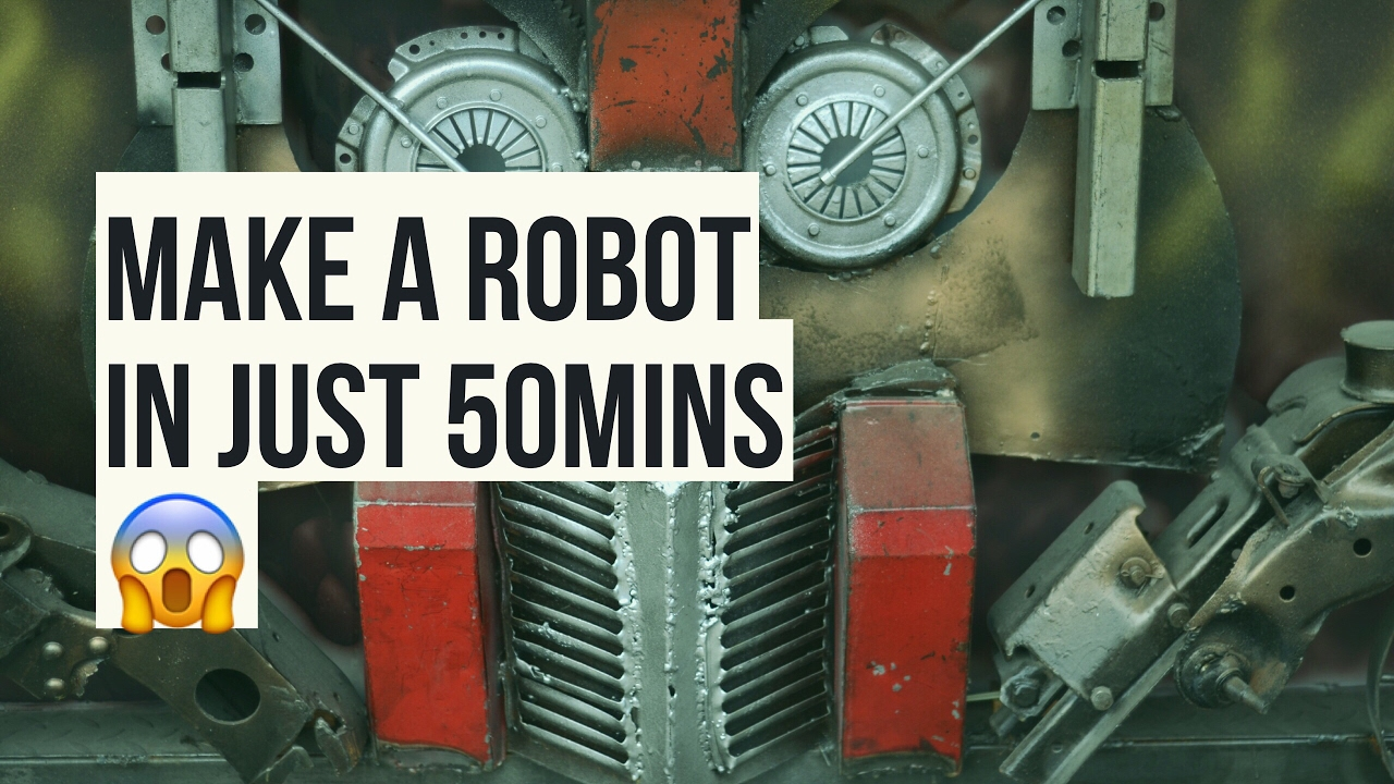 learn robot programming in 50 Mins ! Robotics Lectures(quickly!)🔥