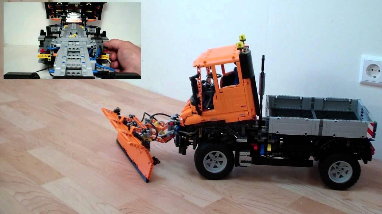 Lego 8110 Unimog U400 Moc Part 2 Youtube