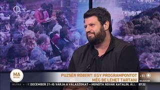 Puzsér Róbert a köztévében | 2018.11.09.