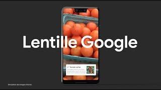Pixel 3: Lentille Google
