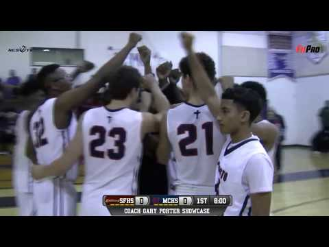 Modesto Christian vs St. Francis Boys Basketball LIVE 12/2/17