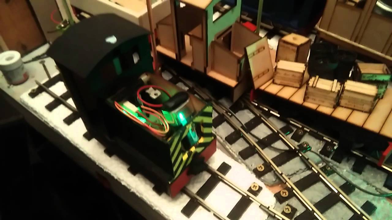 Sm32 Electric Loco Ir Control Grieteeeprojects11 Of Electrical Appliances Using Remote Battery Under The 2 Signals