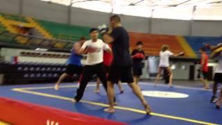 US Wushu Sanshou Team Training