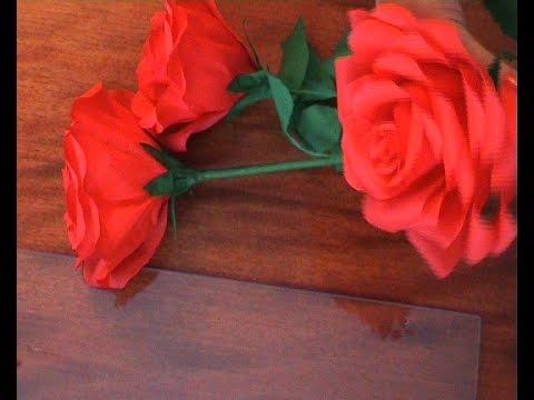 Уроки цветы из гофрированной бумаги