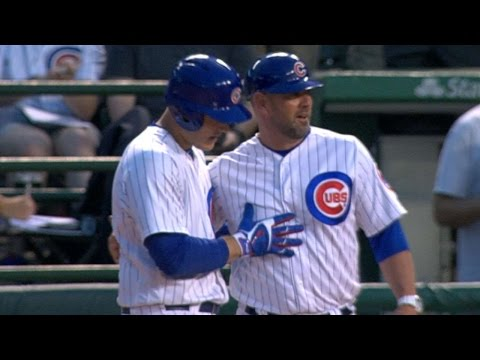 5/17/17: Cubs score five runs in the 2nd to beat Reds