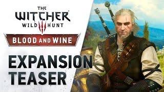 The Witcher 3: Wild Hunt - Тизер - Кровь и вино