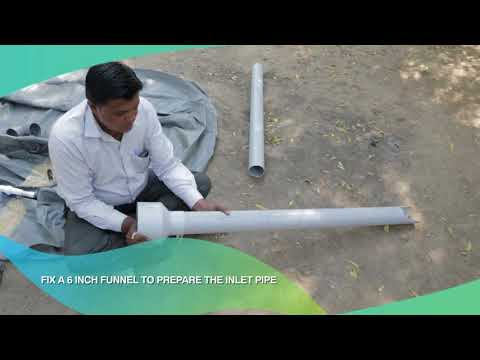 How to Install a Flexi Biogas Plant | Renewable Energy Source | WEALTH FROM WASTE | [Telugu]