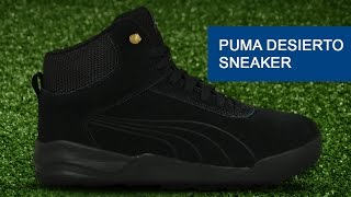 Обзор ботинок Puma Desierto Sneaker