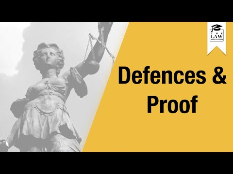 Tort Law - Negligence - Defences & Proof
