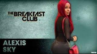 Alexis Sky Fetty Waps Ex vs Slevin Monroe Talks Alleged Sex Tape  Breakfast Club