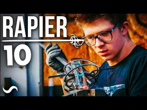 MAKING A BASKET HILT RAPIER SWORD: PART 10