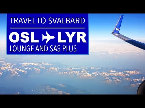 "TRIP REPORT | Flying to Svalbard | SAS Plus (""Business class"")"