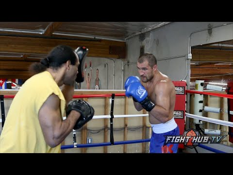 Sergey Kovalev vs. Nadjib Mohammedi full video-Complete Kovalev media workout