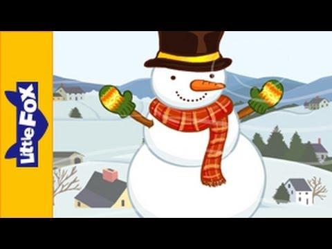 Little Snowman | Nursery Rhymes by Little Fox