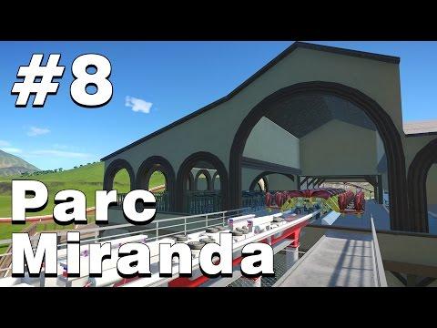 Parc Miranda #8 -  Wing Coaster Station Part 1 - Planet Coaster Timelapse