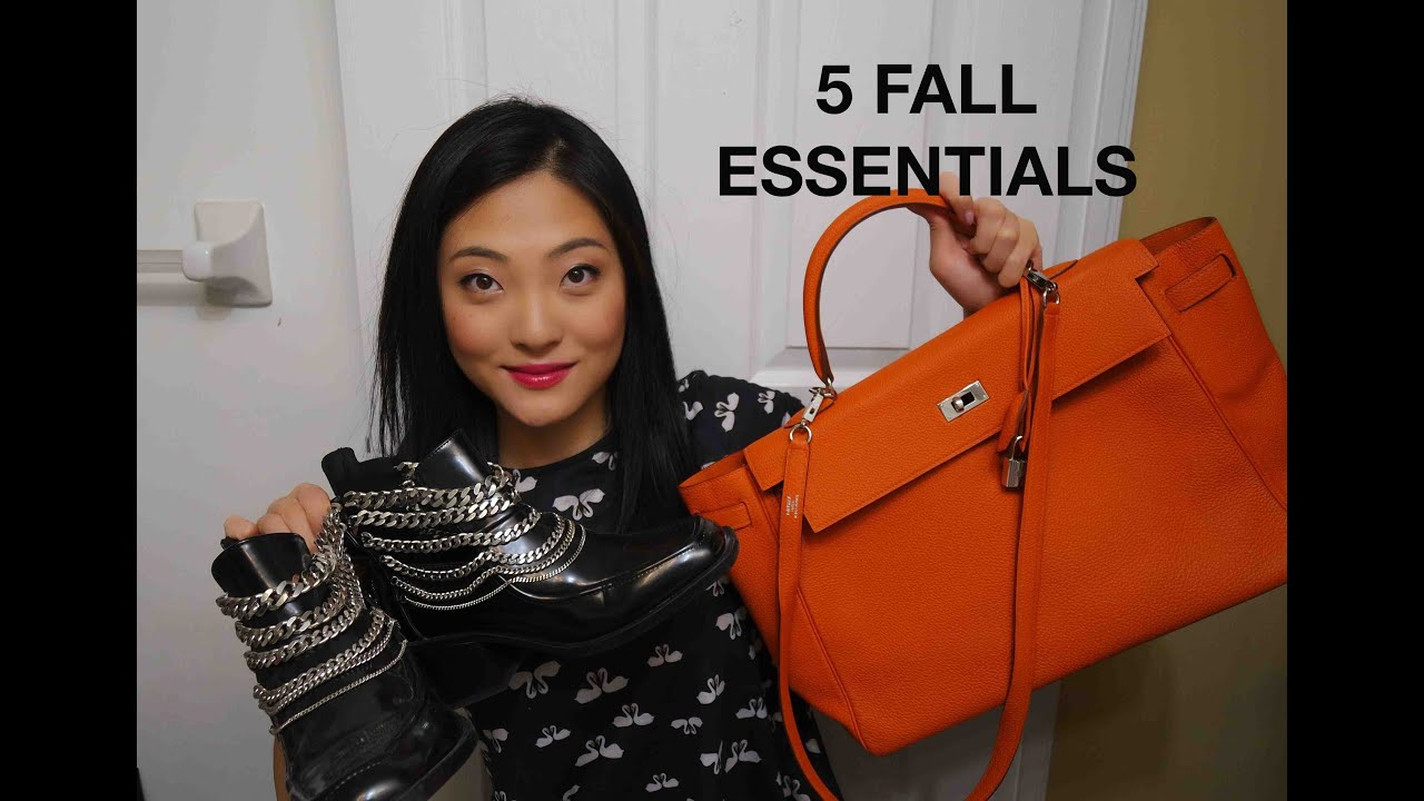 5 Fall Essentials-Hermes Kelly 35, ZARA, Moncler Guery Jacket ...