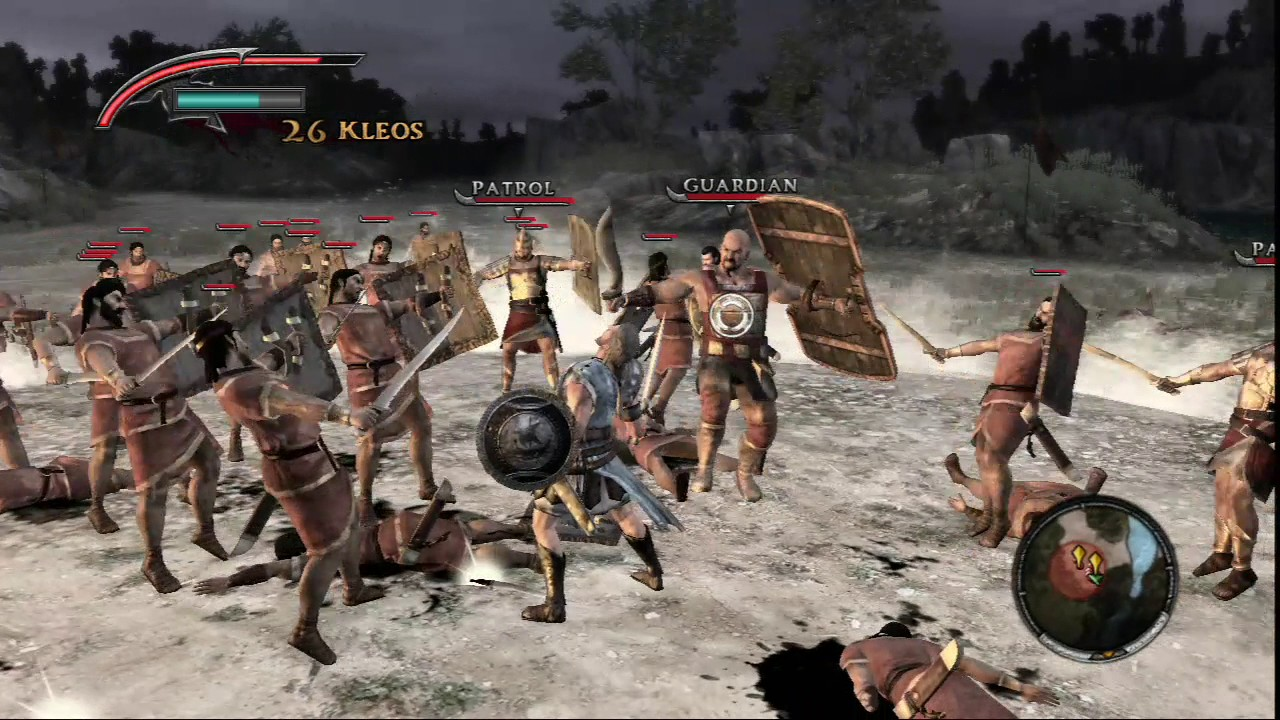 [PS3] Warriors Legends of Troy Chapter 10 - Nightfall Odysseus
