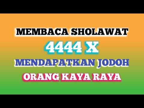 Keajaiban Sholawat,Bersholawat 4444X Mendapat Jodoh