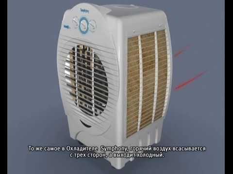 Воздухоохладитель Diet 22i с функцией мойки воздуха. Видео 1