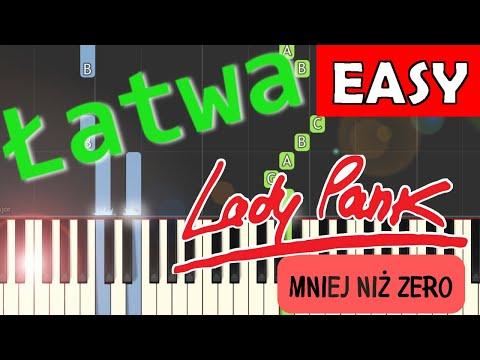 🎹 Mniej niż zero (Lady Pank) - Piano Tutorial (łatwa wersja) 🎹