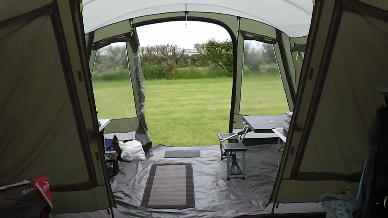 Outwell Montana 6 With Awning Walkthrough Youtube