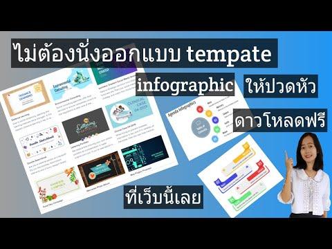 ดาวโหลดเทมเพลต powerpoint สวยๆ ฟรี เทมเพลต แบบ infographic ฟรี (แบบไม่ต้องลงทะเบียน) คลิกเลย