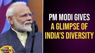 PM Narendra Modi Gives Glimpse Of India's Diversity | #Howdy Modi Meeting | Mango News