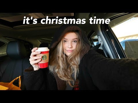 Holiday Vlog | cooking, Christmas shopping, grwm