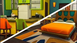 URBZ / SITCOM INSPIRED APARTMENT 🌃🎬   THE SIMS 4 // SPEED BUILD