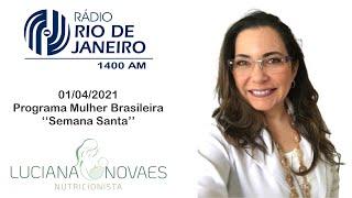 Radio Rio de Janeiro Semana Santa 01 04 2021