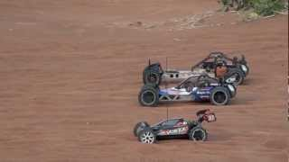 AWESOME RC Cars Gathering, Gasoline + Electric Hill Climb Race