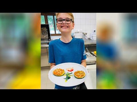 Zucchini-Pizzahappen @ Gut Dietlhofen und die Entdeckerküche