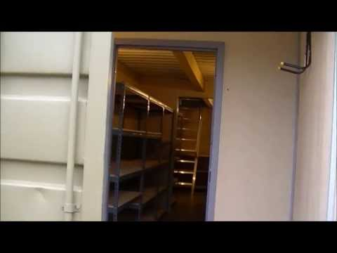 Safety Bunkers Shipping Container Conversion