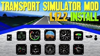 TRANSPORT SIMULATOR MOD 1.12.2 minecraft - how to download and install Transport Simulator 1.12.2