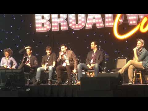 BroadwayCon 2017 - This is A Bronx Tale (Panel) (1/29/2017)