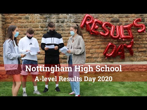 Nottingham High School A-Level Results Day 2020