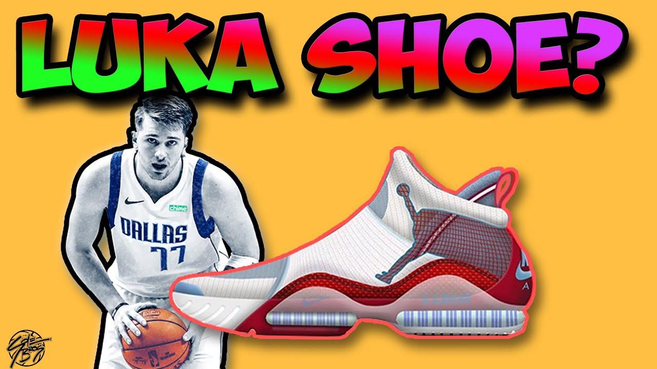 Luka Doncic Signature Jordan Shoe Concept Leak Youtube