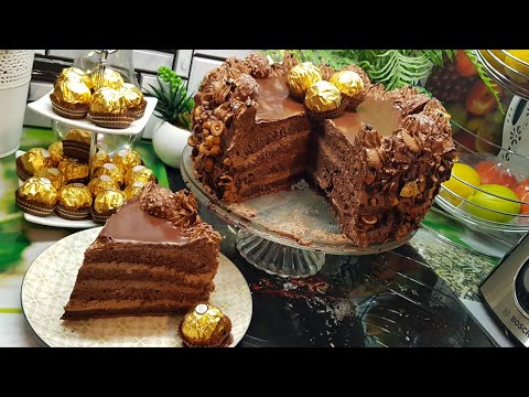 افخم-قاطو-الشوكولاطة-ممكن-تعملو-سهل-و-اقتصادي-/-gâteau-au-chocolat-/-chocolate-cake