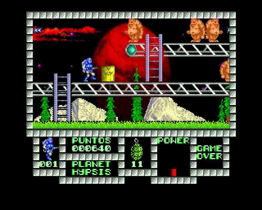 Spec256 Emulator Zx Spectrum Games In 256 Colours Youtube