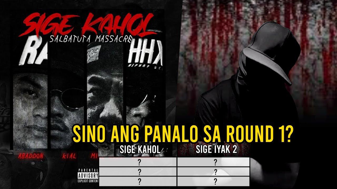 Sige Iyak 2 vs Sige Kahol [Sino ang panalo sa Round 1?]