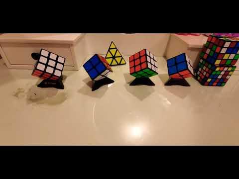 Solving a 3x3, 2x2 rubik's cube. SPECIAL GUEST!!