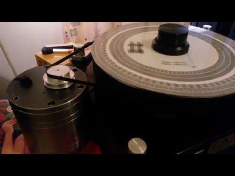 DIY Turntable Motor 300 rpm Experiment  under Test  by ManuNayar