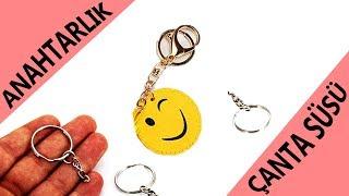 Kendin Yap Anahtarlıklar & Çanta Süsleri | Different Diy Keyschains & Bag Trims Ideas