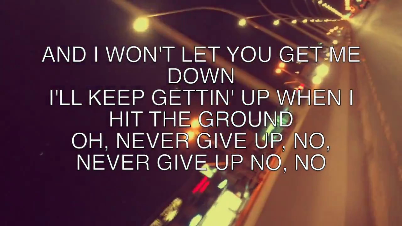 Sia - Never Give Up (from the Lion Soundtrack) [Lyric ...