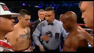 TIMOTHY BRADLEY STOPS BRANDON RIOS 9TH RD KO REVIEW NO FIGHT FOOTAGE
